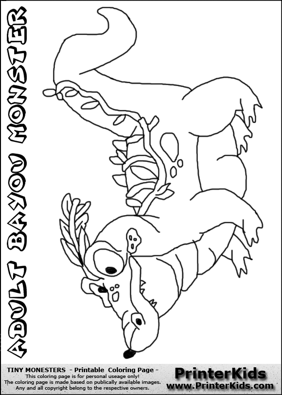 bayou coloring pages - photo#8
